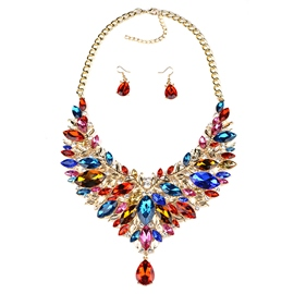 Ericdress Fashion Alloy Gemstones Jewelry Set