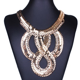 Ericdress Fashion Scale Design Necklace