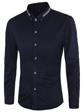 Ericdress Non-Iron Vogue Slim Men's Shirt