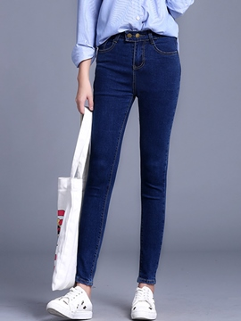 Ericdress Simple Pencile Jeans
