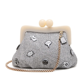 Ericdress Cartoon Embroidery Crossbody Bag