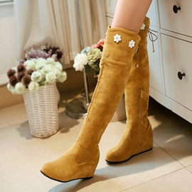 Ericdress Lovely Applique Knee High Boots