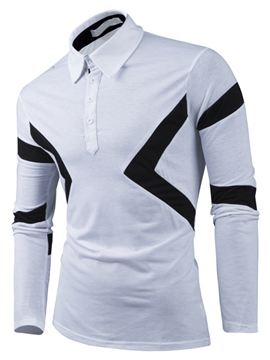 Ericdress Vogue Unique Casual Men's Polo T-Shirt