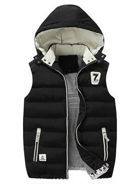 Ericdress Thicken Warm Men's Vest