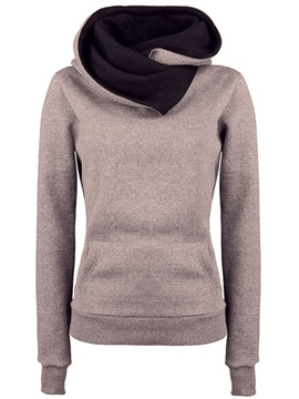 Ericdress Plain Casual Cool Hoodie