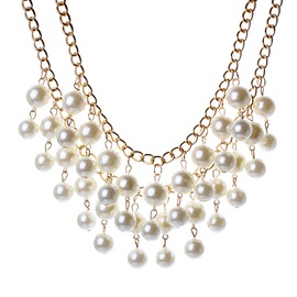 Ericdress All Matched Pearls Necklace