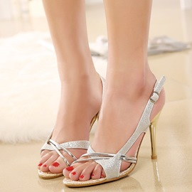 Ericdress OL Open Toe Slingback Strap Stiletto Sandals