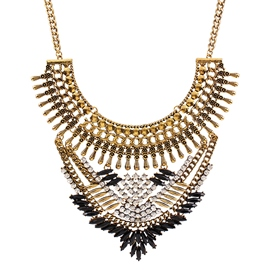 Ericdress Retro Alloy Diamante Necklace