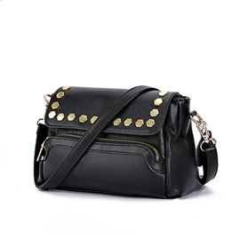 Ericdress Elegant Rivets Decorated Crossbody Bag