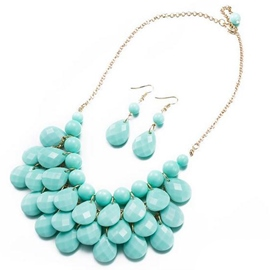 Ericdress Charming Resin Alloy Jewelry Set