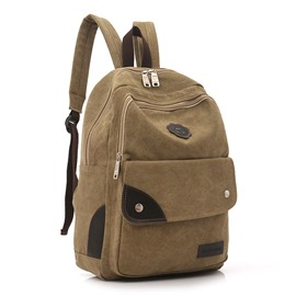 Ericdress Korean Canvas Backpack