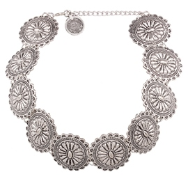 Ericdress Antique Silver Necklace