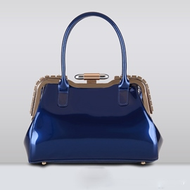 Ericdress Upscale Patent Leather Handbag