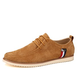 Ericdress Trendy Round Toe Solid Color Men's Casual Shoes