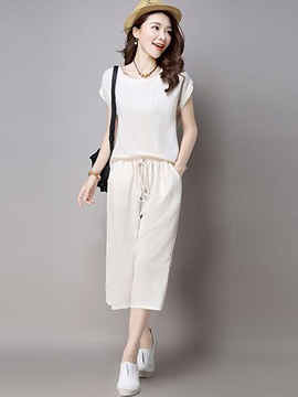 Ericdress Loose Casual Pants Suit