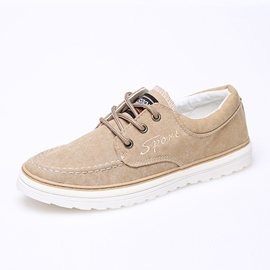 Ericdress Popular Lace up Men's Canvas Shoes