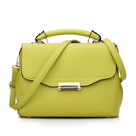 Ericdress Latest Solid Color Handbag