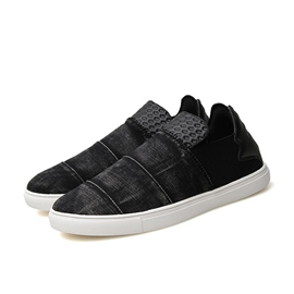 Ericdress Round Toe Slip-On Men's Canvas Shoes