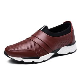 Ericdress Solid Color Mesh Slip-On Men's Casual Shoes