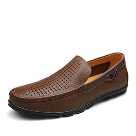 Ericdress Cool Round Toe Cut Out Slip-On Men's Casual Shoes