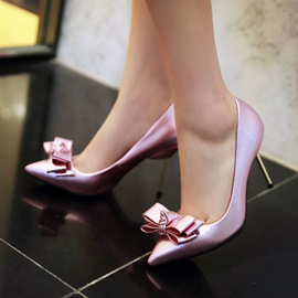Ericdress Sexy Lady Point Toe Bowtie Pumps