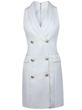Ericdress Double-Breasted Lapel Vest