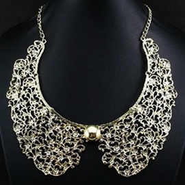 Ericdress Metal Hollow-Out Necklace