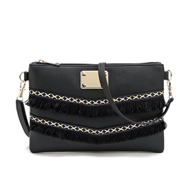 Ericdress Tassel Messenger Crossbody Bag