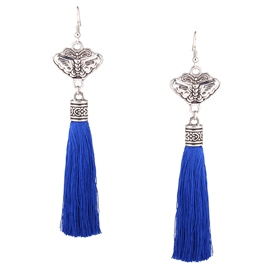 Ericdress Butterfly Tassel Earrings