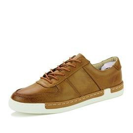 Ericdress Trendy Round Toe Lace-Up Men's Casual Shoes