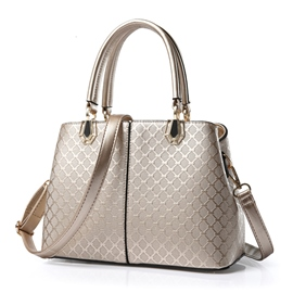 Ericdress Elegant Plaid Handbag