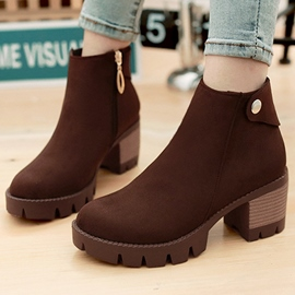 Ericdress Pretty Suede Martin Boots