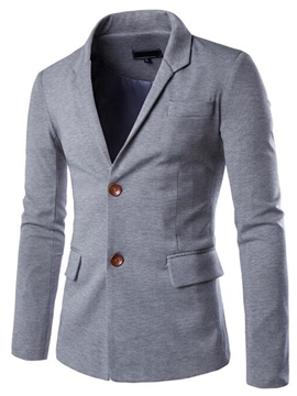 Ericdress Slim Casual Men's Blazer
