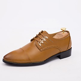 Ericdress Thread Point Toe Men's Oxfords