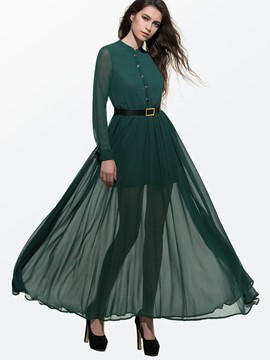 Evening dress green 833