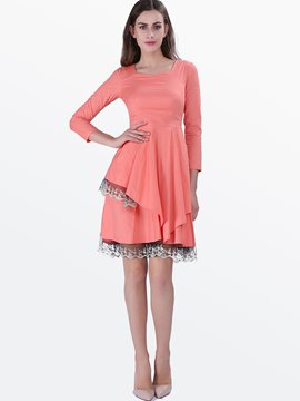 Ericdress Elegant Asymmetric Casual Dress