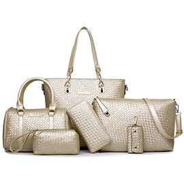 Ericdress Leisure Weaved Handbags(6 Bags)