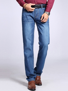 Ericdress Plus Size Casual Men's Jeans