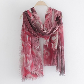 Ericdress Abstract Sea World Print Scarf