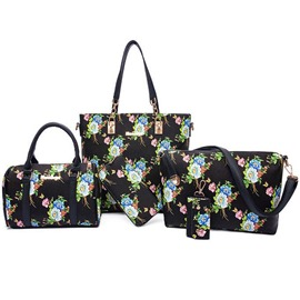 Ericdress Simple Floral Print Handbags(6 Bags)