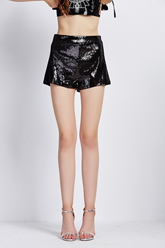 Ericdress Vintage Sequins Shorts