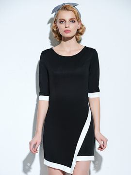 European Stylish Sexy Bodycon Dress