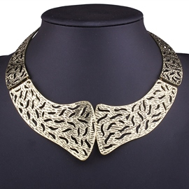 Ericdress Alloy Hollow-Out Short Necklace