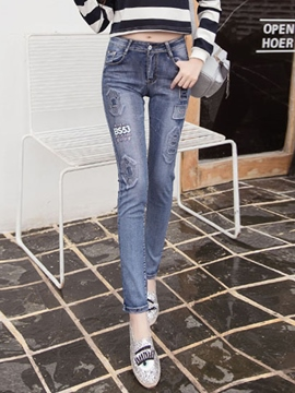 EricdressFashion Worn Jeans