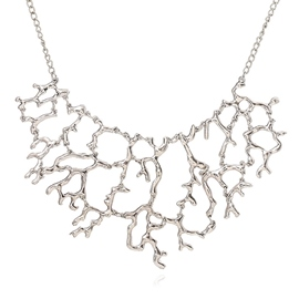 Ericdress Coral Shaped Pendant Necklace