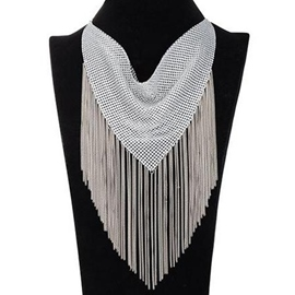 Ericdress Fashion Metal Tassel Necklace