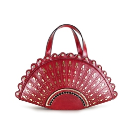 Ericdress Palace Style Carving Fan Handbag