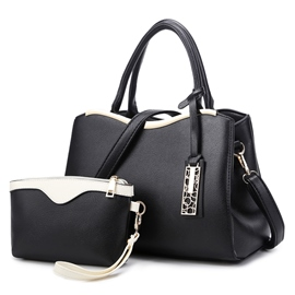 Ericdress Graceful Candy Color Handbags(2 Bags)