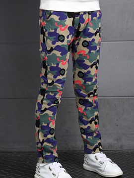 Ericdress Casual Camouflage Printed Boys Bottoms