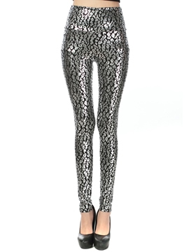 Ericdress Skinny Leopard Leggings Pants